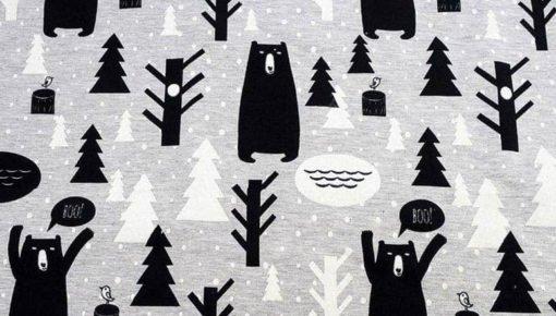 Kapa Crno bijela Boo 1