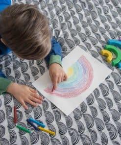 Dječija plahta - Rainbow