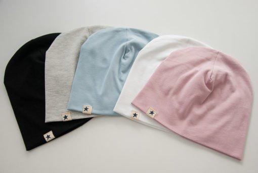Jednobojne pamučne kape