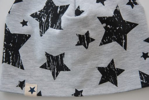 Pamučna kapa - Siva zvijezda