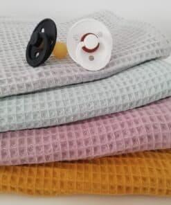 Jednobojni waffle pokrivači