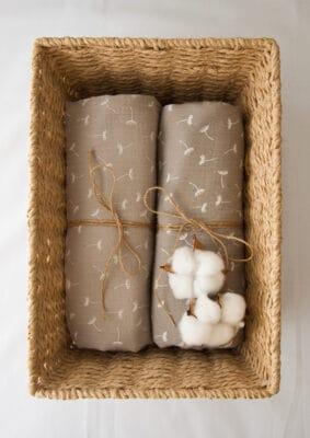 Tetra pokrivač smeđi sa maslačcima
